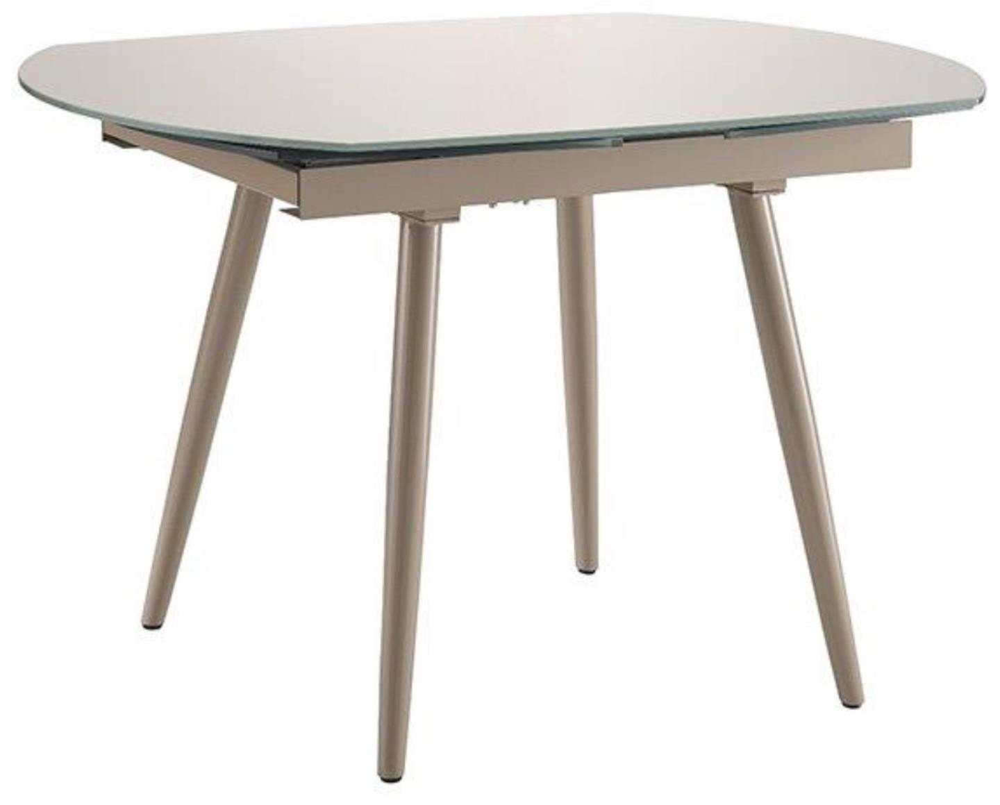 Twist Extending Dining Table Cappuccino