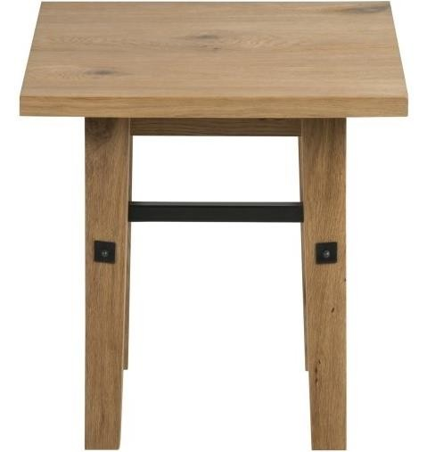Stockholm Wild Oak Lamp Table