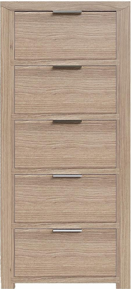 Lews 5 Drawer Tall Chest