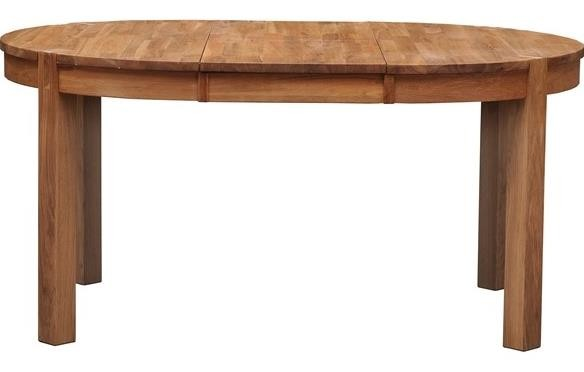 Royal Oak Round Extending  Dining Table