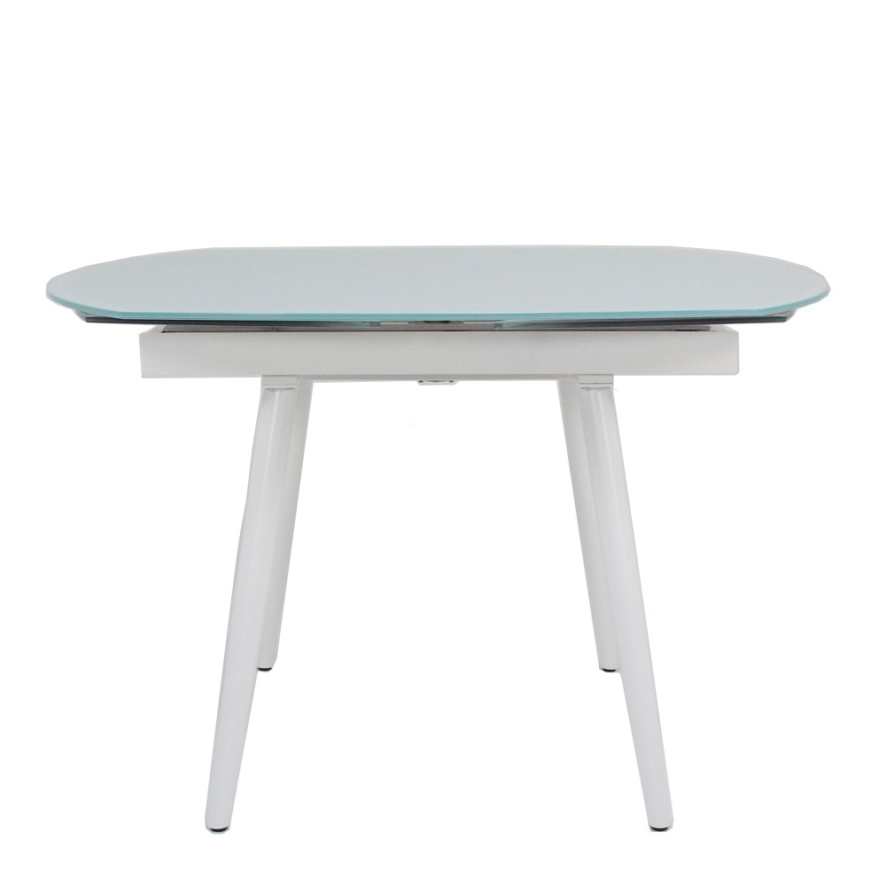 Twist Extending Dining Table White