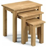 Coxmoor Oak Nest Of 3 Tables