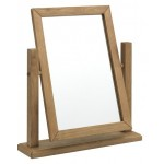 Como Dressing Table Mirror Oiled Oak