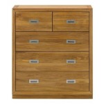 Como 3+2 Drawer Chest Oiled Oak