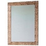 Kingsway Rectangle Gold Mirror