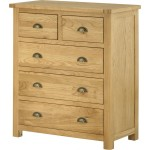 Maine 2 Over 3 Chest In Oak