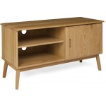 Malmo Oak 1 Door Tv Cabinet