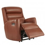 Somersby Petite Leather Dual Motor Lift & Tilt Recliner