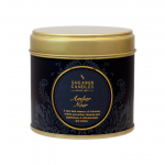 Large Gold Tin Amber Noir