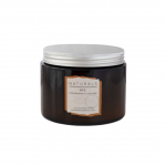 Naturals 2 Wick Candle Cedarwood & Log Fire