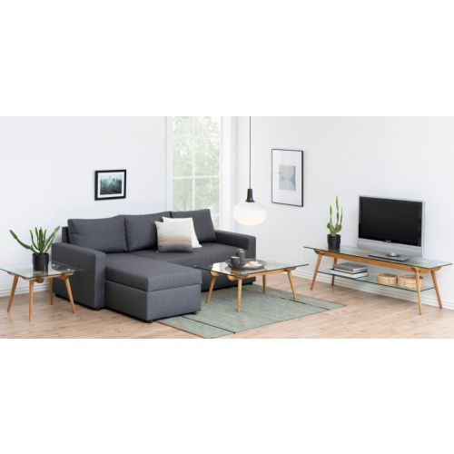 Furniture Clearance Sacramento: The Sacramento Sofabed With Storage Chaise