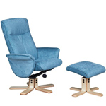 Marrakech Recliner Chair & Footstool